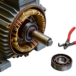 Onsite motor installation and repairs