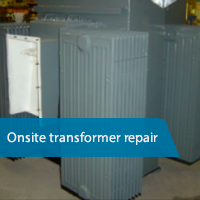 Onsite transformer repair and rewind across the UK