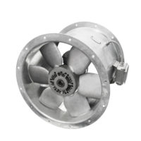 air turbine fan for ventilation and air conditioning isolated